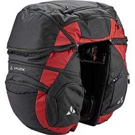 VAUDE Karakorum Pro Frame Bag, noir/rouge